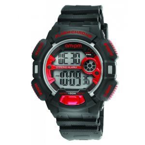 腕時計 エーエム:ピーエム メンズ AMPM Men's Quartz Watch PC129-G127 Black Plastic Case Black Plastic Strap|aurora-and-oasis