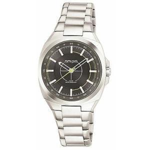 腕時計 エーエム:ピーエム メンズ AMPM Men's Analogue Quartz Watch PG117-U088 Steel Case Steel Bracelet|aurora-and-oasis