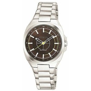 腕時計 エーエム:ピーエム メンズ AMPM Men's Analogue Quartz Watch PG117-U091 Steel Case Steel Bracelet|aurora-and-oasis