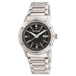腕時計 エーエム:ピーエム メンズ AMPM Men's Analogue Quartz Watch PG119-U096 Steel Case Steel Bracelet|aurora-and-oasis