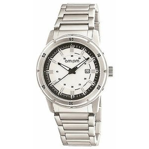 腕時計 エーエム:ピーエム メンズ AMPM Men's Analogue Quartz Watch PG119-U097 Steel Case Steel Bracelet|aurora-and-oasis