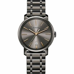 腕時計 ラドー メンズ Rado R14072137 Men's Diamaster Ceramic Charcoal Quartz Watch|aurora-and-oasis