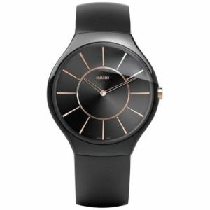 腕時計 ラドー メンズ Rado R27741159 Men's True Ceramic Black Quartz Watch|aurora-and-oasis