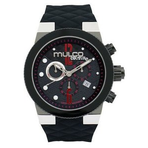 腕時計 マルコ メンズ Mulco Men's Swiss Quartz Watch MW5-2552-025 Black Rubber Strap|aurora-and-oasis
