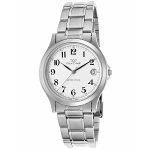 腕時計 グリシン グライシン メンズ  Glycine Men's Vintage Stainless Steel Swiss Quartz Watch 3690-14-SAP-MB aurora-and-oasis