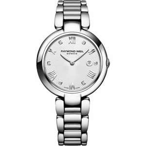 腕時計 レイモンドウイル レディース Raymond Weil 1600-ST-00618 Women's Shine Silver Quartz Watch|aurora-and-oasis