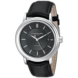腕時計 レイモンドウイル メンズ Raymond Weil 2237-STC-20001 Men's Maestro Silver Automatic Watch|aurora-and-oasis