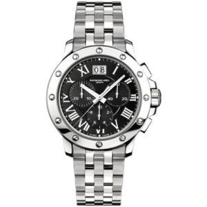 腕時計 レイモンドウイル メンズ Raymond Weil 4899-ST-00208 Men's Tango Black Quartz Watch|aurora-and-oasis