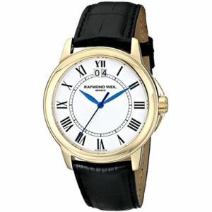腕時計 レイモンドウイル メンズ Raymond Weil 5476-P-00300 Men's Tradition White Quartz Watch|aurora-and-oasis