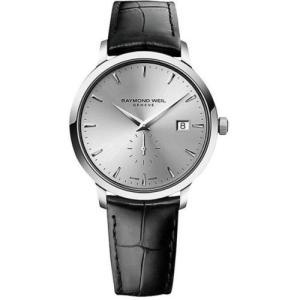 腕時計 レイモンドウイル メンズ Raymond Weil 5484-STC-65001 Men's Toccata Silver Quartz Watch|aurora-and-oasis