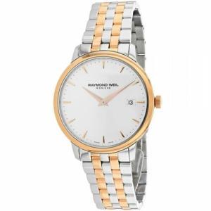 腕時計 レイモンドウイル メンズ Raymond Weil 5488-SP5-C6501 Men's Toccata Silver Quartz Watch|aurora-and-oasis