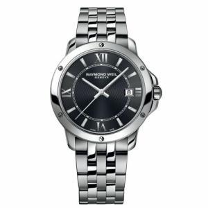 腕時計 レイモンドウイル メンズ Raymond Weil 5591-ST-00607 Men's Tango Dark Gray Quartz Watch|aurora-and-oasis