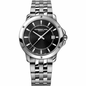 腕時計 レイモンドウイル メンズ Raymond Weil  5591-ST-20001 Men's Tango Black Quartz Watch|aurora-and-oasis