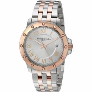腕時計 レイモンドウイル メンズ Raymond Weil  5599-SB5-00658 Men's Tango Silver Quartz Watch|aurora-and-oasis