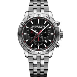 腕時計 レイモンドウイル メンズ Raymond Weil  8560-ST2-20001 Men's Tango Black Quartz Watch|aurora-and-oasis