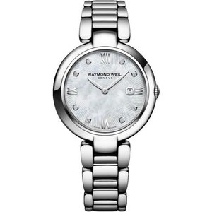 腕時計 レイモンドウイル レディース Raymond Weil 1600-ST-00995 Women's Shine Mother of Pearl Quartz Watch|aurora-and-oasis