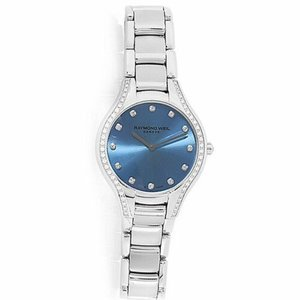 腕時計 レイモンドウイル レディース Raymond Weil  5132-STS-50081 Women's Noemia  Blue Quartz Watch|aurora-and-oasis