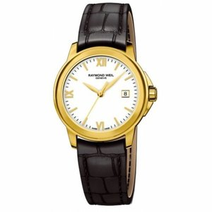 腕時計 レイモンドウイル レディース Raymond Weil  5376-P-00307 Women's Tradition White Quartz Watch|aurora-and-oasis
