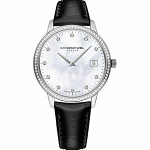 腕時計 レイモンドウイル レディース Raymond Weil  5388-SLS-97081 Women's Toccata  Mother of pearl Quartz Watch|aurora-and-oasis