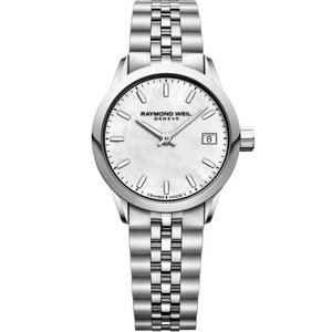 腕時計 レイモンドウイル レディース Raymond Weil  5626-ST-97021 Women's Freelancer  Mother of pearl Quartz Watch|aurora-and-oasis