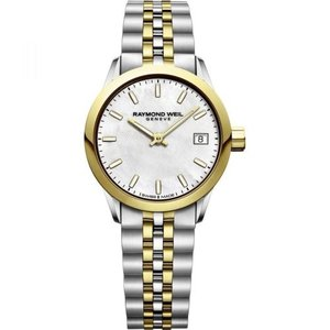腕時計 レイモンドウイル レディース Raymond Weil  5626-STP-97021 Women's Freelancer  Mother of pearl Quartz Watch|aurora-and-oasis