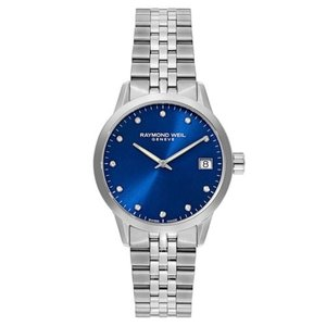 腕時計 レイモンドウイル レディース Raymond Weil  5650-ST-CARA1 Women's Freelancer  Blue Quartz Watch|aurora-and-oasis