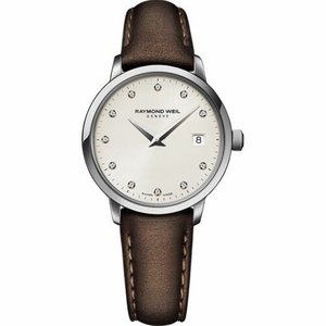 腕時計 レイモンドウイル レディース Raymond Weil  5988-STC-40081 Women's Toccata  Ivory  Quartz Watch|aurora-and-oasis