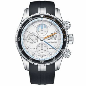 腕時計 エドックス メンズ Edox 01123 3ORCA ABUN Men's Grand Ocean Silver Automatic Watch|aurora-and-oasis