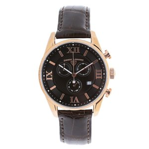 腕時計 スイスレジェンド メンズ Swiss Legend Men's Leather Casual Watch swiss Quartz Watch 22011-RG-01-AAT22M|aurora-and-oasis