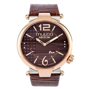 腕時計 マルコ メンズ Mulco Men's Swiss Quartz Watch MW5-3183-033 Brown Genuine Leather Strap|aurora-and-oasis
