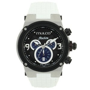 腕時計 マルコ Mulco Unisex MW3-12140-015 Ilusion Analog Display Swiss Quartz White Watch|aurora-and-oasis
