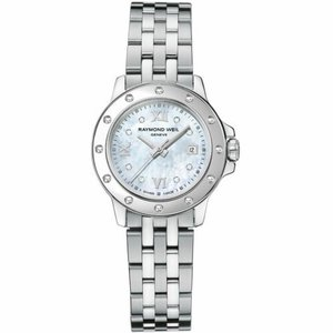 腕時計 レイモンドウイル レディース Raymond Weil 5399-ST-00995 Women's Tango Mother of Pearl Quartz Watch|aurora-and-oasis