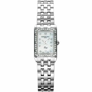 腕時計 レイモンドウイル レディース Raymond Weil 5971-STS-00995 Women's Tango Mother of Pearl Quartz Watch|aurora-and-oasis