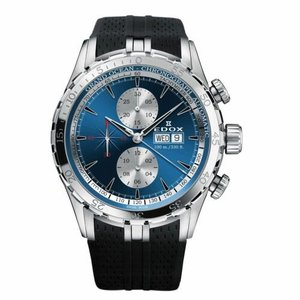 腕時計 エドックス メンズ Edox 01121 3CA BUIN Men's Grand Ocean Blue  Automatic  Watch|aurora-and-oasis