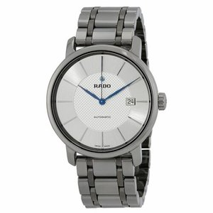 腕時計 ラドー メンズ Rado R14074132 Men's Diamaster XL Silver Automatic Watch|aurora-and-oasis