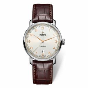 腕時計 ラドー メンズ Rado R14077136 Men's Diamaster XL White Automatic Watch|aurora-and-oasis