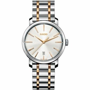 腕時計 ラドー メンズ Rado R14078103 Men's Diamaster XL Silver Quartz Watch|aurora-and-oasis
