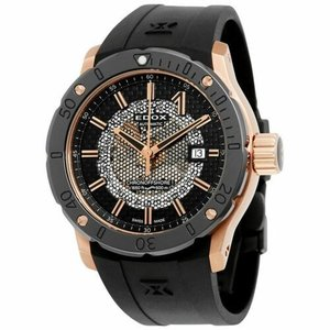 腕時計 エドックス メンズ Edox 80099 37R NIR Men's Chronoffshore-1 Black Automatic  Watch|aurora-and-oasis