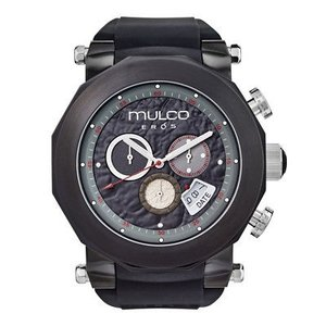 腕時計 マルコ Mulco Unisex Eros Black Rubber Band Swiss Quartz Watch MW3-14027-025|aurora-and-oasis