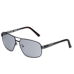 サングラス ケネスコール メンズ Kenneth Cole Reaction Mens Black Metal Aviator Sunglass KC1281 2A|aurora-and-oasis