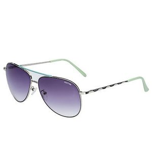 サングラス ケネスコール メンズ Kenneth Cole Reaction Mens Silver Taupe Metal Aviator Sunglass KC1282 8B|aurora-and-oasis