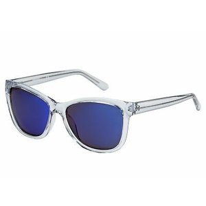 サングラス ケネスコール メンズ Kenneth Cole Reaction Crystal Clear Square Plastic Sunglass KC1267 26X|aurora-and-oasis