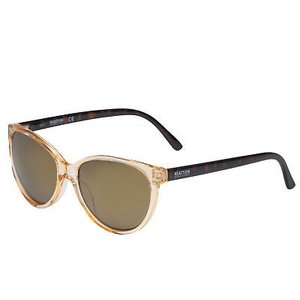 サングラス ケネスコール メンズ Kenneth Cole Reaction Sunglass Round Crystal Brown Plastic, Mirror KC1271 45G|aurora-and-oasis
