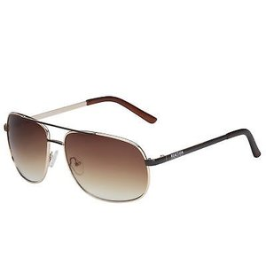 サングラス ケネスコール メンズ Kenneth Cole Reaction Gold Aviator Gradient Brown Sunglasses KC1276 32F|aurora-and-oasis