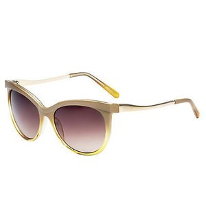 サングラス ケネスコール レディース Kenneth Cole Reaction Womens Soft Square Brown Crystal Sunglass KC1292 57F|aurora-and-oasis
