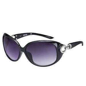 サングラス ケネスコール レディース Kenneth Cole Reaction Womens Plastic Black Sunglass, Gradient Lens KC1169 1A|aurora-and-oasis