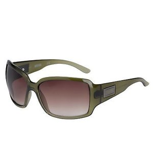 サングラス ケネスコール レディース Kenneth Cole Reaction Sunglass Womens Green Black Fade Rectangle, KC1086 K86|aurora-and-oasis
