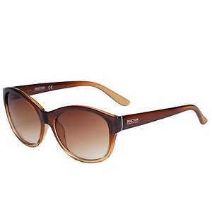 サングラス ケネスコール レディース Kenneth Cole Reaction Women's Brown Fade Oval Sunglasses KC1290 50F|aurora-and-oasis