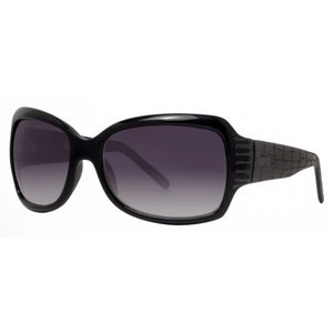 サングラス ケネスコール レディース Kenneth Cole Reaction KC1060 000B5 Women's Black Smoke Grey Oversized Sunglasses|aurora-and-oasis