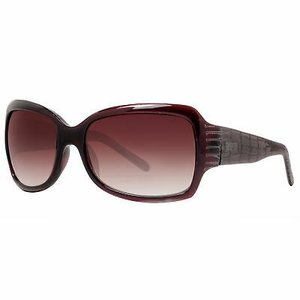 サングラス ケネスコール レディース Kenneth Cole Reaction KC1060 00K85 Women's Burgundy Brown Oversized Sunglasses|aurora-and-oasis